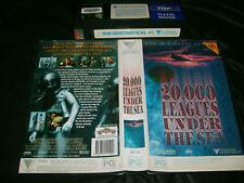 Vhs *20000 LEAGUES UNDER THE SEA* 1997 Mega Rare Australian Roadshow Remake Iss.