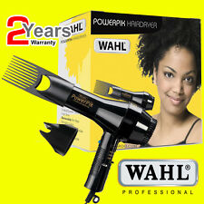 Wahl ZX052 Power Pik Light Weight 1250W Turbo Hair Dryer with Afro Pik