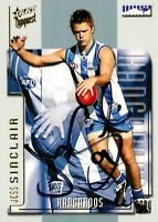 ✺Signed✺ 2004 NORTH MELBOURNE KANGAROOS AFL Card JESS SINCLAIR