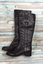 Bandolino Brown Leather Knee High Boots Sz 5.5