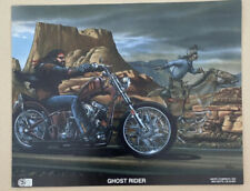 New ListingVintage Ghost Rider Motorcycle and cowboy chopper horse race 1980's Biker Bike