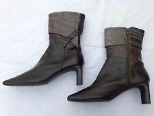 GOMEZ RIVAS Paris London leather Ankle Boots New Size 6.5 UK 6 6.5 7 mrp490