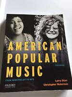 American Popular Music: 5th Edition With Access Code ISBN 9780190632991