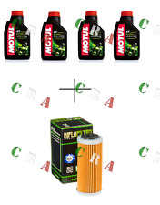 KIT TAGLIANDO OLIO MOTUL 5100 4T 10W40 4 LT+FILTRO HF652 HUSQVARNA FC250 14/17