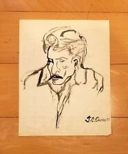 JOSE CLEMENTE OROZCO INK ON PAPER DRAWING
