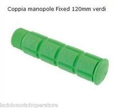 COPPIA MANOPOLE BICI FIXED VERDI BIKE SINGLE SPEED SCATTO FISSO
