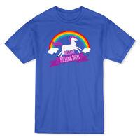 This Is My Killing Shirt Rainbow Unicorn Men's T-shirt