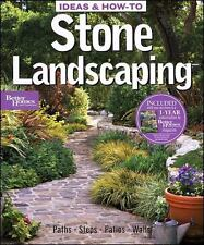 IDEAS & HOW-TO: STONE LANDSCAPING (BETTER HOMES AND GARDENS) **BRAND NEW**