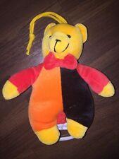 Toy Company Müller Spieluhr Hase Bunny Rot Schwarz Orange Gelb Plüschtier Guten