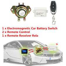 Car Vehicle Battery Isolator Cut Off Power Kill Anti-theft Remote Control Switch