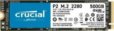 More details for crucial 500gb,internal,m.2 2280 (ct500p2ssd8) solid state drive nvme