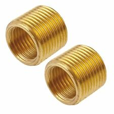 Threaded Adapter Bush 3/8 Male 1/4 inch Female BSP Air Line Hose Fitting 2 PAC