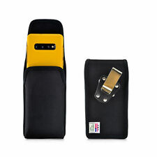 Belt Clip - Galaxy S10+ Plus w/ OTTERBOX SYMMETRY Vertical Holster Black Nylon