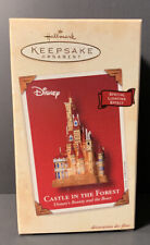 """Hallmark Ornament """"Castle In The Forest"""" Disney's 'Beauty & the Beast'"""