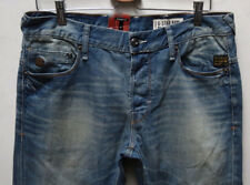G-Star Raw Heller Low Straight Memphis Denim Aged 34 W x 34 Brand New with Tags