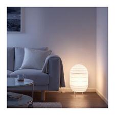 NEW IKEA STORUMAN FLOOR LAMP LIGHT WHITE RICE PAPER SHADE MODERN CONTEMPORARY