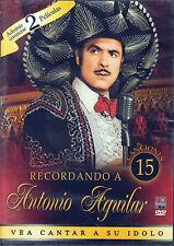 Recordando A Antonio Aguilar Vea Cantar A Su Idolo DVD NEW 9 Songs + 2 Movies !