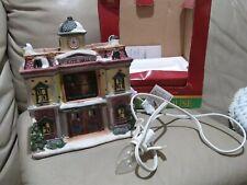 Lighted House city hall  - Christmas Holiday Decoration