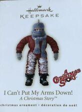 Hallmark Keepsake Ornament a Christmas Story I Can't Put My Arms Down 2007