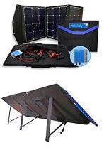 Solartasche 120W 12Volt  MPPT Laderegler Solarmodul faltbar SunPower Zellen
