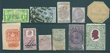 GB early Fiscal/Revenue stamp collection