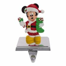 Disney MICKEY MOUSE Christmas Stocking Hanger w/ Retractable Hook by Kurt Adler
