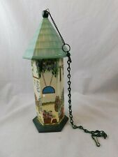 """Butterfly House Kathy Hatch Collections 15"""" tall Hand Painted Original Piece"""