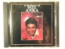 PAUL ANKA L'italiano di - Golden age vol. 2 cd COME NUOVO LIKE NEW!!!