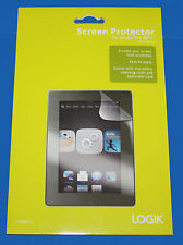 LOGIK Screen Protector WITH Cleaning Cloth & Card for AMAZON KINDLE FIRE HD 7''