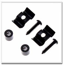 2set String Tree Guide Retainer Body Custom Black for Strat Tele Replacement Gui