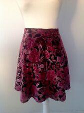 DANGERFIELD Stella Burnout Skater Skirt - Size 6 - BNWT - ORP $88