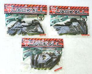 "Jackall 3""  Cover Craw  LOT - 3 Packs, - Plastic Baits - Fishing tackle - GPP"