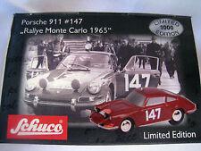 """Schuco Piccolo 01347 Porsche 911  1:9 #147 """"Rallye Monte Carlo 1965"""" Ltd.Edition"""