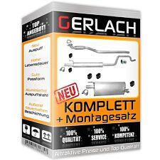 Opel Meriva A 1,3 CDTi 1,7 DTi 69Ps 75Ps Endtopf Auspuff Auspuffanlage Anbausatz