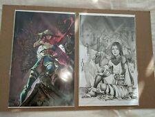 New listing Demon Days X-Men #1 (Nm) Kael Ngu Virgin + 2nd Print Sketch Variant - Psylocke
