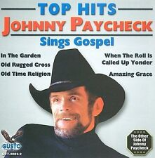 PAYCHECK johnny sings 5 gospel AMAZING GRACE in the garden OLD TIME RELIGION cd