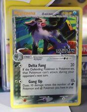 Mightyena 24/113 EX Delta Species STAMPED Holo Rare Pokemon Card NM