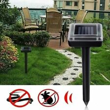 Ultrasonic Mouse Repeller Electronic Outdoor Rodent Control Garden Animal Gopher
