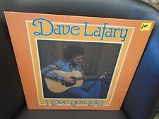 Dave Lafary I Love You Lord [Christian] LP 1979 private press VG+