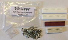 Lamp Board Connector Repair Kit for Bally/Stern pinball machines Free Shipping