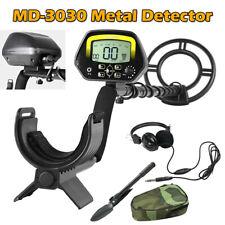 Lcd Metal Detector Treasure Hunter Gold Digger Waterproof w/ Headphone & Shovel