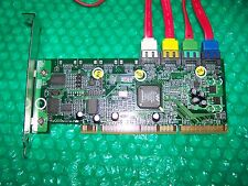 HP 4-port SATA PCI-X Host Bus Adapter Hard Drive Controller with Cables