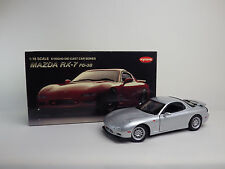 MAZDA RX-7 FD-3S 1995  Silver  1:18 KYOSHO DIE-CAST CAR SERIES / KYOSHO USED