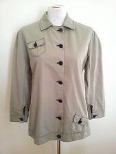 Trans-Seasonal! Ashley Fogel (NZ) size 12 grey long sleeve jacket