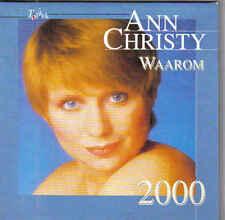 Ann Christy-Waarom 2000 cd single