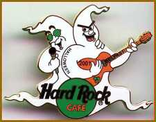 Hard Rock Cafe BELFAST 2001 HALLOWEEN PIN Ghosts Performers w/HRC LOGO PIN #1165
