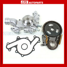 90-93 FORD LINCOLN MERCURY Timing Chain Water Pump Kit 3.8L OHV V6 Taurus Sable