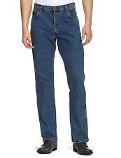 Wrangler Texas Stretch Regular Fit Denim Jeans New Men's Stonewash Blue