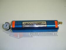 """Canton 1 Quart QT Accusump Engine Oil Accumulator Aluminum Blue One 12"""" x 3.25"""""""
