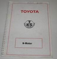Technische Information Handbuch Schulung Toyota N Motor Januar 1987!